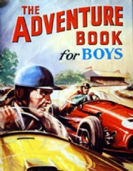 The Adventure Book for Boys 1940s-1950s #1950