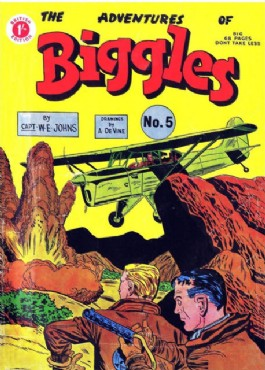 The Adventures of Biggles #5