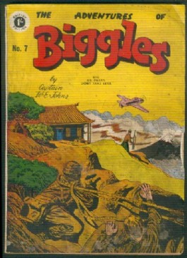 The Adventures of Biggles #7