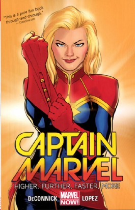 Captain Marvel (8th Series): Higher, Further, Faster, More