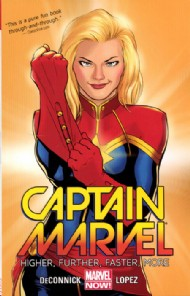 Captain Marvel (8th Series): Higher, Further, Faster, More 2014 #0