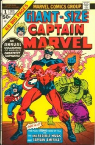 Giant Size Captain Marvel 1975 #1