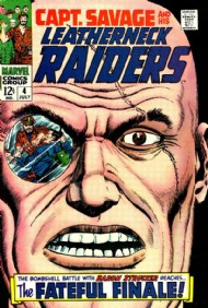 Captain Savage and His Leatherneck Raiders 1968 - 1970 #4