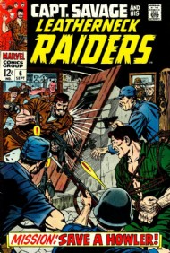 Captain Savage and His Leatherneck Raiders 1968 - 1970 #6