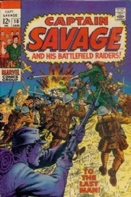 Captain Savage and His Leatherneck Raiders 1968 - 1970 #10