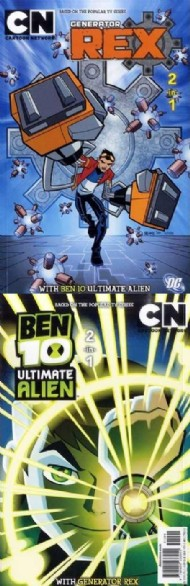 Cartoon Network 2 in 1: Ben 10 Ultimate Alien/Generation Rex 2012