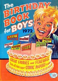 The Birthday Book for Boys  #1972