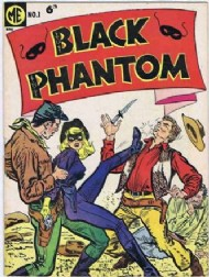 The Black Phantom 1950 - #1