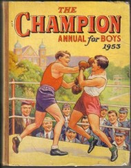 The Champion Annual for Boys  #1953
