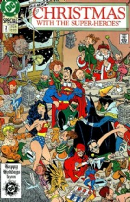 Christmas With the Super-Heroes 1988 - 1989 #2