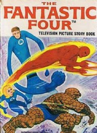 The Fantastic Four Television Storybook  #1970