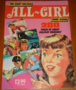 The Giant Holiday All-Girl Comic Album #1989