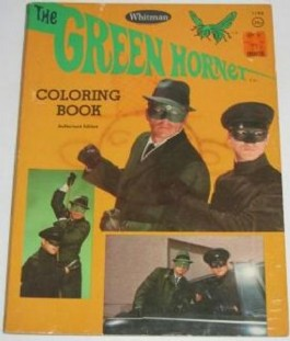 The Green Hornet Colouring Book #1966