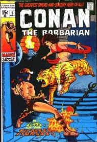 Conan the Barbarian 1970 - 1993 #5