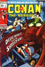 Conan the Barbarian 1970 - 1993 #6