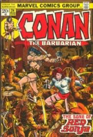 Conan the Barbarian 1970 - 1993 #24