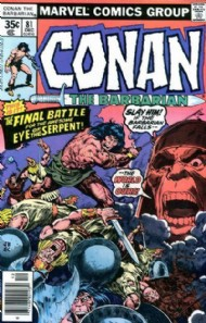 Conan the Barbarian 1970 - 1993 #81