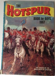 The Hotspur Book for Boys (2nd Series) 1966 - 1992 #1967