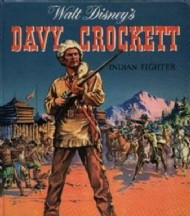 Walt Disney's Davy Crockett Indian Fighter  #1956