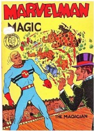 Young Marvelman Magic Painting Book  #1955