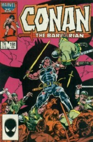 Conan the Barbarian 1970 - 1993 #191