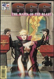 666 the Mark of the Beast 1991 - 1992 #1