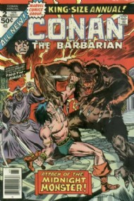 Conan the Barbarian Annual 1973 - 1987 #2