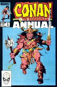 Conan the Barbarian Annual 1973 - 1987 #8