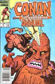 Conan the Barbarian Annual 1973 - 1987 #9