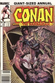 Conan the Barbarian Annual 1973 - 1987 #10
