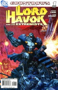 Countdown Presents: Lord Havok and the Extremists 2007 - 2008 #1