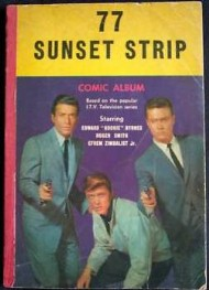 77 Sunset Strip Comic Album 1964 #1
