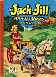 Jack and Jill Book / Annual 1955 - 1986 #1959