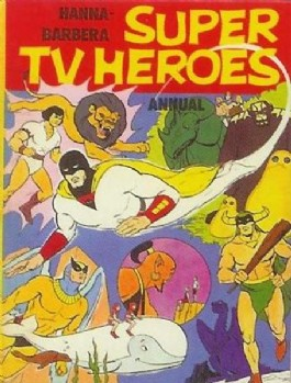 Hanna Barbera Super TV Heroes Annual #1975