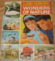 Look and Learn Book of Wonders of Nature  #1968