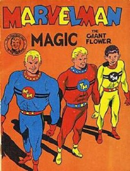 Marvelman Magic Painting Book #1955