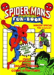 Spider-Man's Playtime Fun-Book