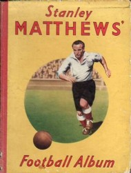 Stanley Matthews Football Album  #1950