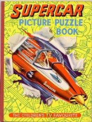 Supercar Picture Puzzle Book  #1962