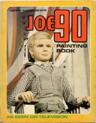 Joe 90 Painting Book 1968 #1