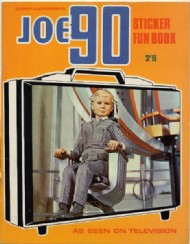 Joe 90 Sticker Fun Book 1968 #4