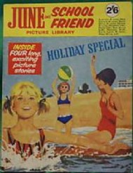 June and School Friend Picture Library Holiday Special 1966 - 1981 #1966