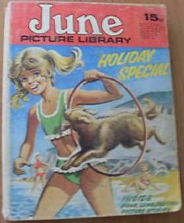 June and School Friend Picture Library Holiday Special #1972