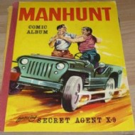 Manhunt Comic Album 1960 #1