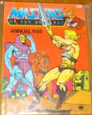 Masters of the Universe Annual 1984 - 1989 #1986
