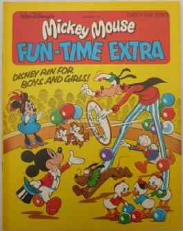 Mickey Mouse Fun Time Extra #1978