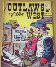 Outlaws of the West 1958 - #2