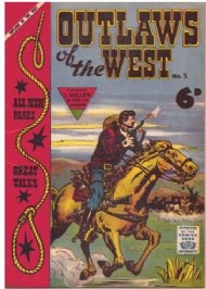 Outlaws of the West 1958 - #5