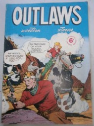 Outlaws Western Stories 1951 #1