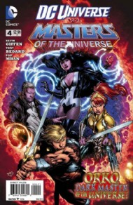 DC Universe Vs. Masters of the Universe 2013 - 2014 #4